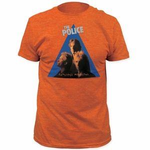 The Police Zenyatta Mondatta Heather Orange Shirt